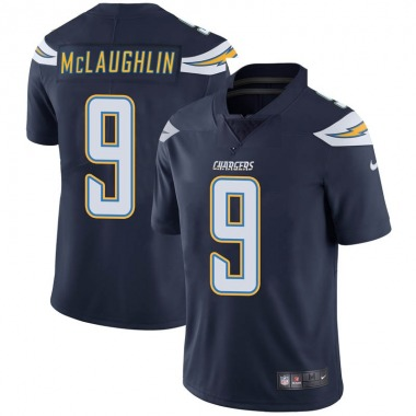 Men's Nike Los Angeles Chargers Chase McLaughlin Team Color Vapor Untouchable Jersey - Navy Limited