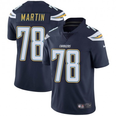Men's Nike Los Angeles Chargers Koda Martin Team Color Vapor Untouchable Jersey - Navy Limited