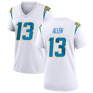 Women's Nike Los Angeles Chargers Keenan Allen Jersey - White Game