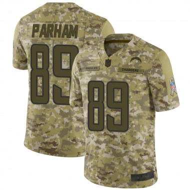 Youth Nike Los Angeles Chargers Donald Parham 2018 Salute to Service Jersey - Camo Limited