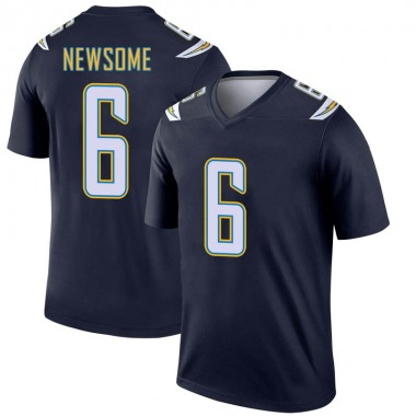 Youth Nike Los Angeles Chargers Tyler Newsome Jersey - Navy Legend